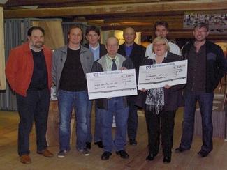 2009 bauproma spendet 520,77 an der Verein der Freunde der Realschule Riedenburg